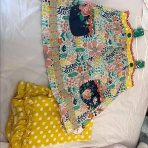 Wild flowers size 6 euc and NWT